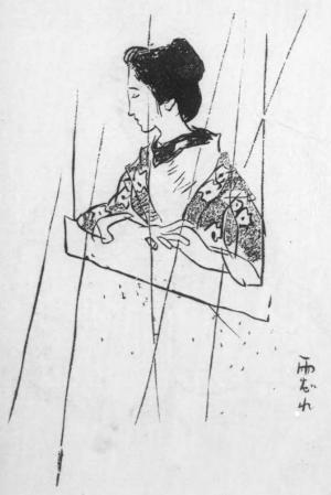 秋雨の俳句と季語(夢二雨だれ国立国会図書館オンライン)