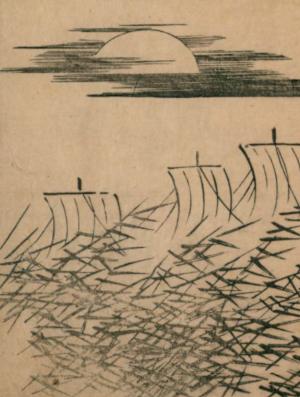 冬の月の俳句と季語(英一蝶)