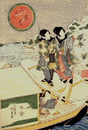 雪の俳句と季語(三囲の夜雪)