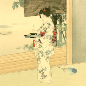 夏の夜の俳句と季語(国立国会図書館オンライン:今様美人)