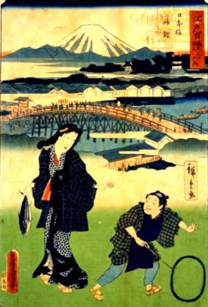 初鰹の俳句と季語(日本橋初鰹)