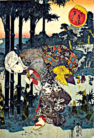 筍の俳句と季語(下屋敷乃笋つみ)