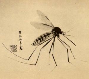 蚊の季語(和田三造画)