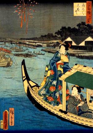 花火の俳句と季語(両こく大花火)