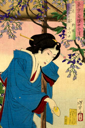 季語と藤の俳句(東京自慢十二ヶ月)