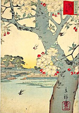 八重桜の俳句と季語(東都隅田川八重桜・国会図書館オンライン)